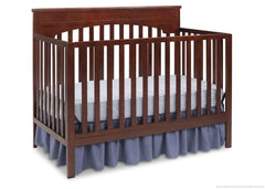 Delta Children Chocolate (204) Layla 4-in-1 Crib, Crib Conversion b3b