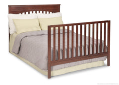 Delta Children Chocolate (204) Layla 4-in-1 Crib, Full-Size Bed Conversion b5b
