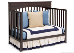 Delta Children Dark Chocolate (207) Layla 4-in-1 Crib, Day Bed Conversion c5c