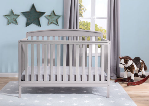 Brayden 4-in-1 Crib (Grey) - Bundle