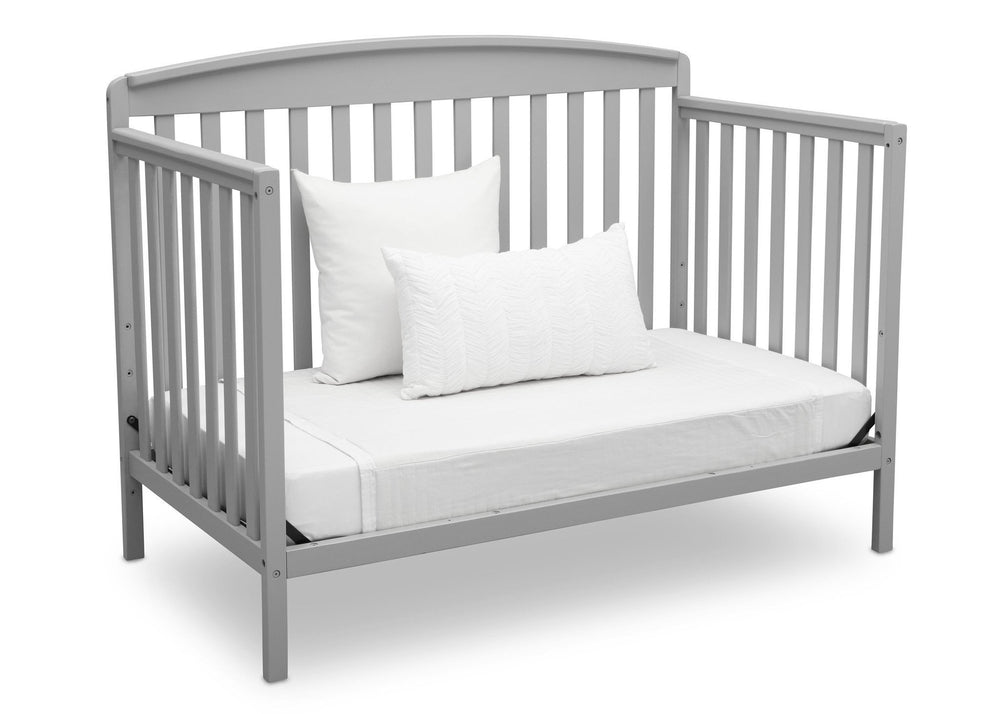 Delta Children Grey (026) Brayden 4-in-1 Crib, Daybed Conversion a5a