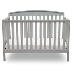 Brayden 4-in-1 Crib (Grey)