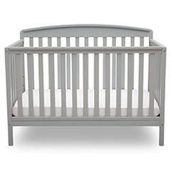 Delta Children Grey (026) Brayden 4-in-1 Crib, Straight Crib View a2a