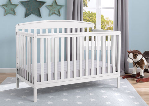 Brayden 4-in-1 Crib (Bianca) - Bundle