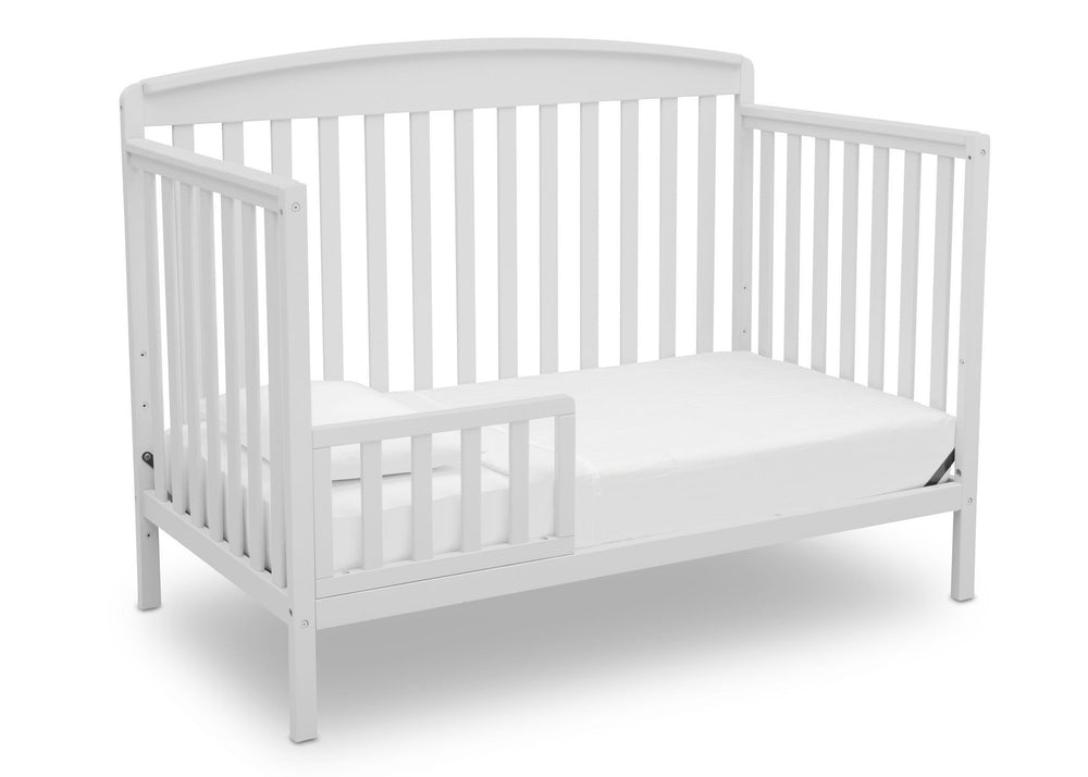 Delta Children Bianca (130) Brayden 4-in-1 Crib, Toddler Bed Conversion b4b