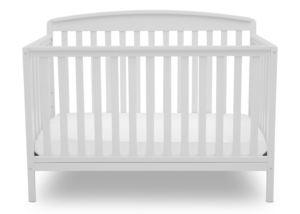Delta Children Bianca (130) Brayden 4-in-1 Crib, Straight Crib View b2b