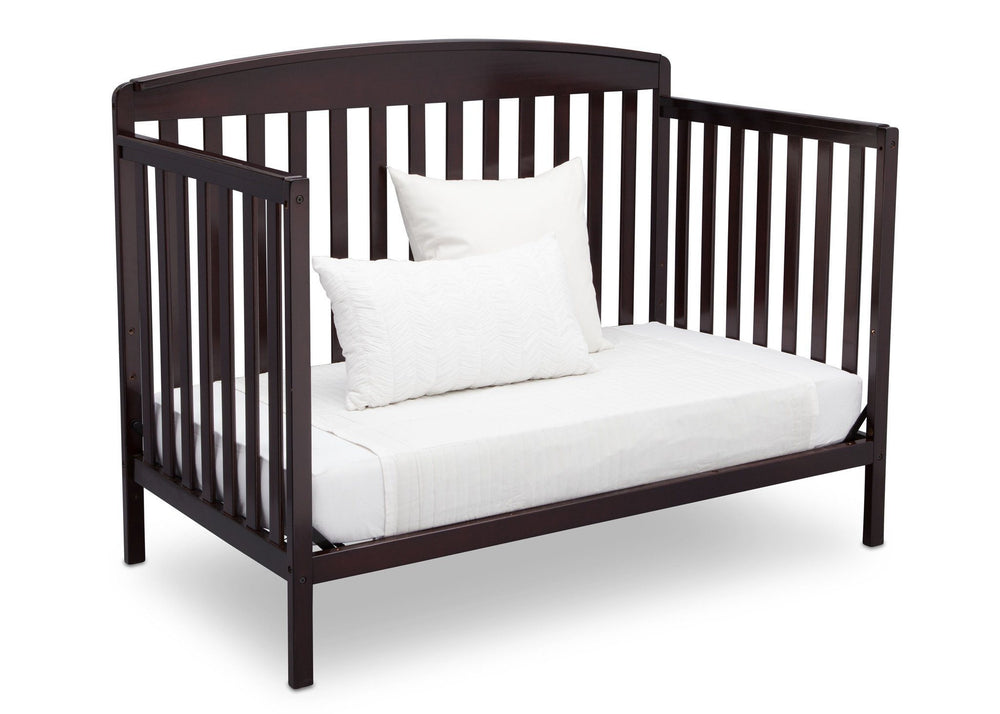 Delta Children Dark Chocolate (207) Brayden 4-in-1 Crib, Daybed Conversion c6c