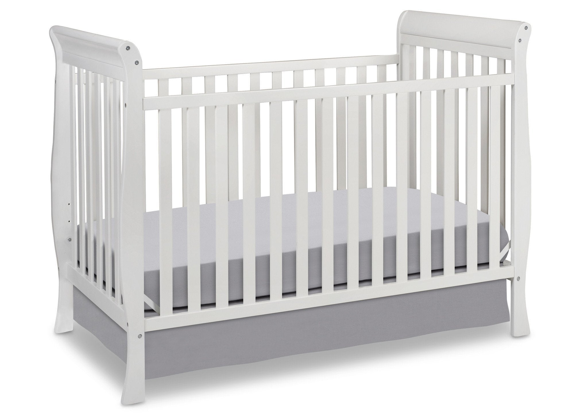 Delta Children White (100) Winter Park 3-in-1 Crib, Crib Conversion