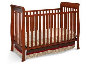 Delta Children Spiced Cinnamon (209) Winter Park 3-in-1 Crib, Crib Conversion b1b