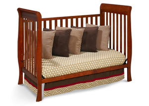 Delta Children Spiced Cinnamon (209) Winter Park 3-in-1 Crib, Day Bed Conversion b3b