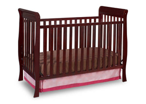 Delta Children Espresso Java (645) Winter Park 3-in-1 Crib, Crib Conversion d1d
