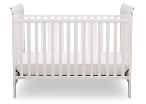 Delta Children White (100) Parkside 3-in-1-Crib, Crib Conversion a4a