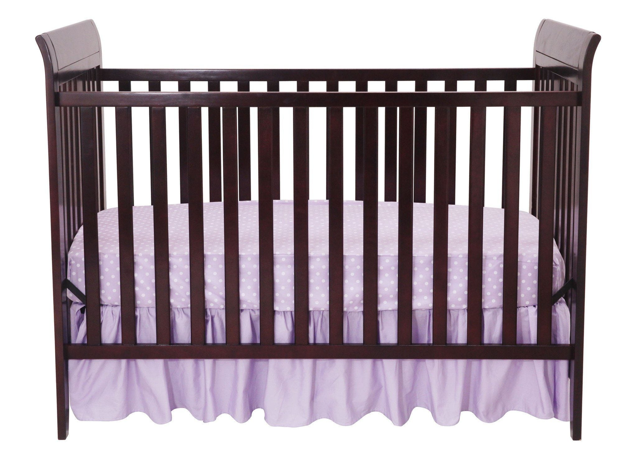 Delta Children Dark Chocolate (207) Parkside 3-in-1-Crib, Crib Conversion b1b