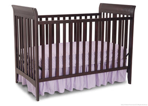 Delta Children Dark Chocolate (207) Parkside 3-in-1-Crib, Crib Conversion b2b