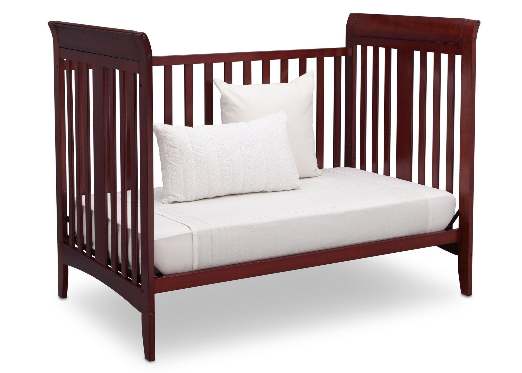 Delta Children Cabernet (648) Parkside 3-in-1-Crib, Day Bed Conversion c4c