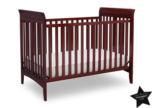 Delta Children Cabernet (648) Parkside 3-in-1-Crib, With Seal c5c