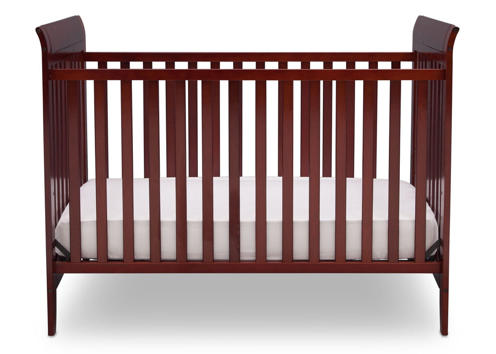 Delta Children Cabernet (648) Parkside 3-in-1-Crib, Crib Conversion c1c