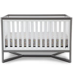 Tribeca 4-in-1 Crib (White/Grey)