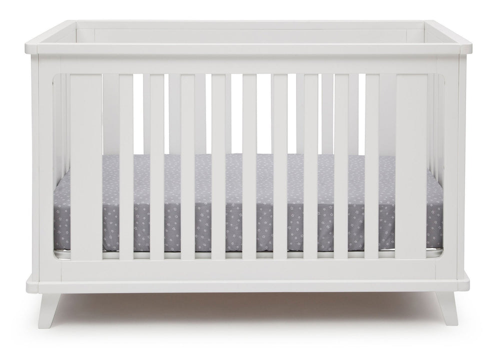 Delta Children White (100) Ava 3-in-1 Crib a2a