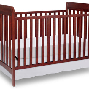 Delta Children Black Cherry Espresso (607) Bayside 3-in-1 Crib