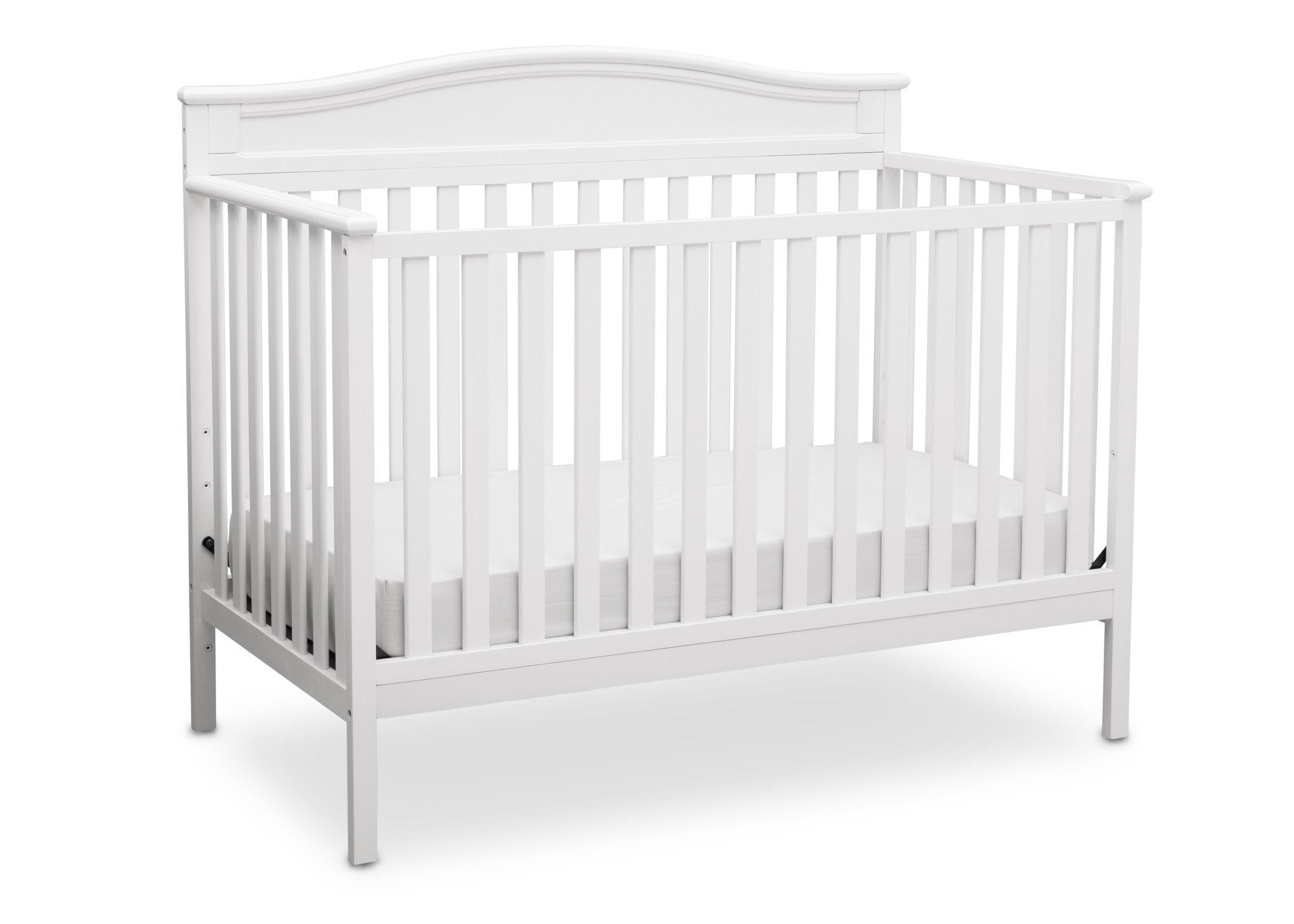 ... Delta Children White (100) Larkin 4 In 1 Crib, Crib Conversion ...