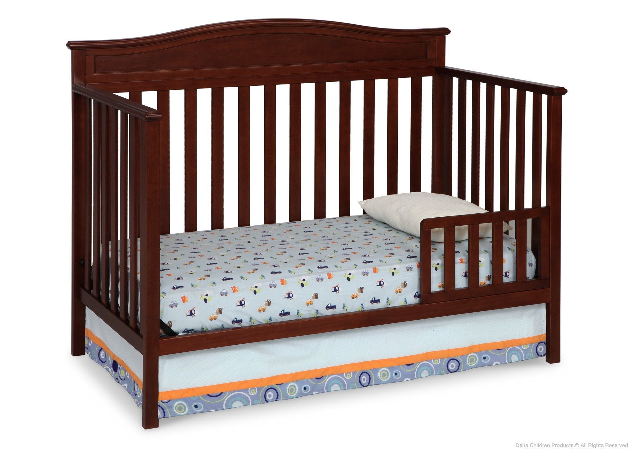 Superior ... Delta Children Merlot (615) Larkin 4 In 1 Crib, Toddler Bed ...