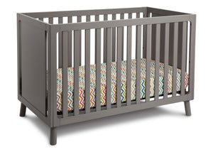 Delta Children Classic Grey (028) Manhattan 3-in-1 Crib, Crib Conversion