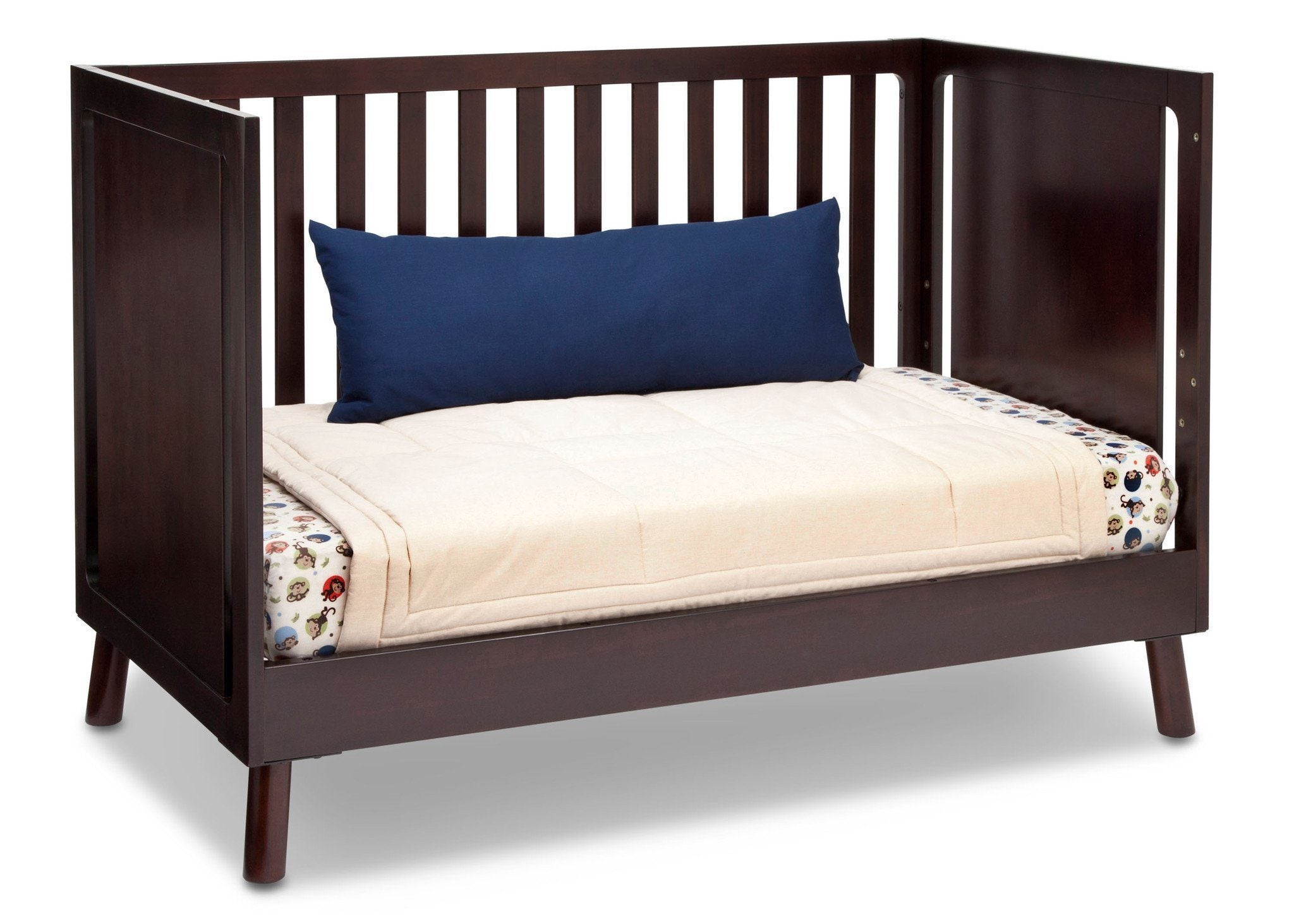 Delta Children Dark Chocolate (207) Manhattan 3-in-1 Crib, Day Bed Conversion b5b