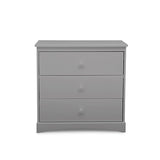 Sutton 3 Drawer Dresser with Changing Top