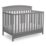 Sutton 4-in-1 Convertible Crib (Grey)