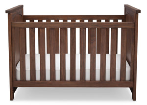 Serta Rustic Oak (229) Northbrook 3-in-1 Crib, Crib Conversion with Front View b2b
