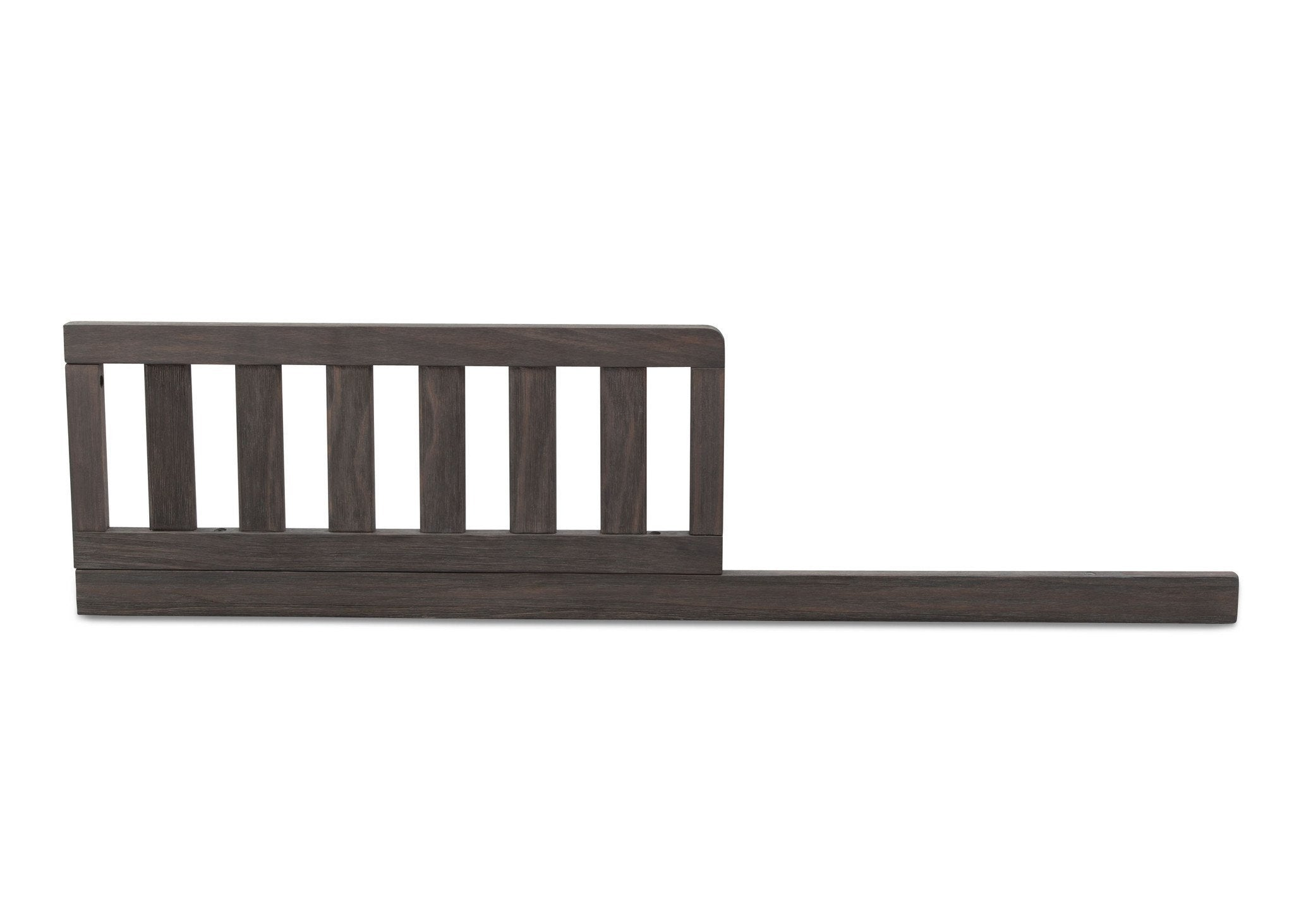 Serta Rustic Grey (084) Toddler Guardrail/Daybed Rail Kit, Front View a2a