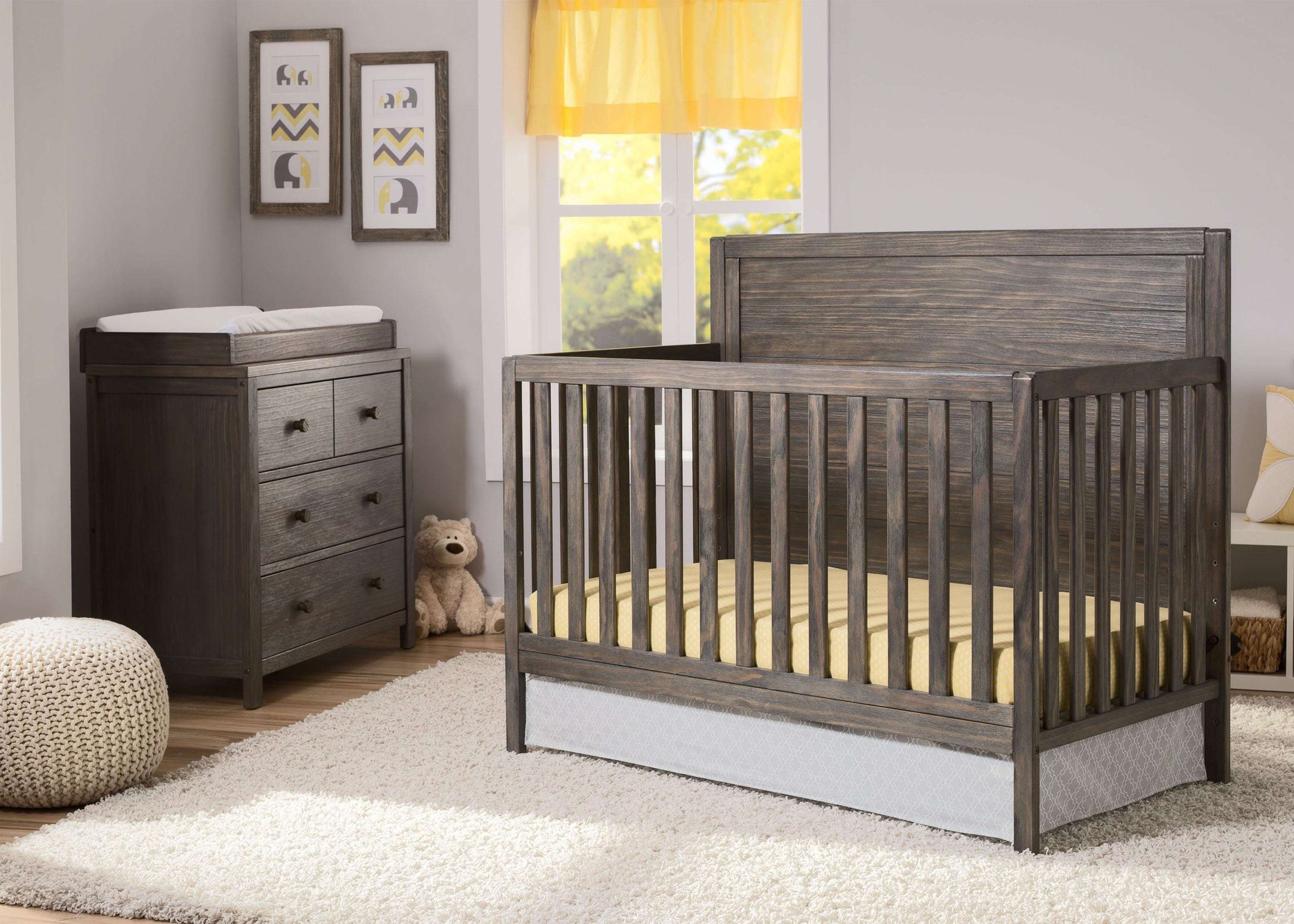 delta cribs room skylar convertible products chocolate crib dark in children hangtag drawers with