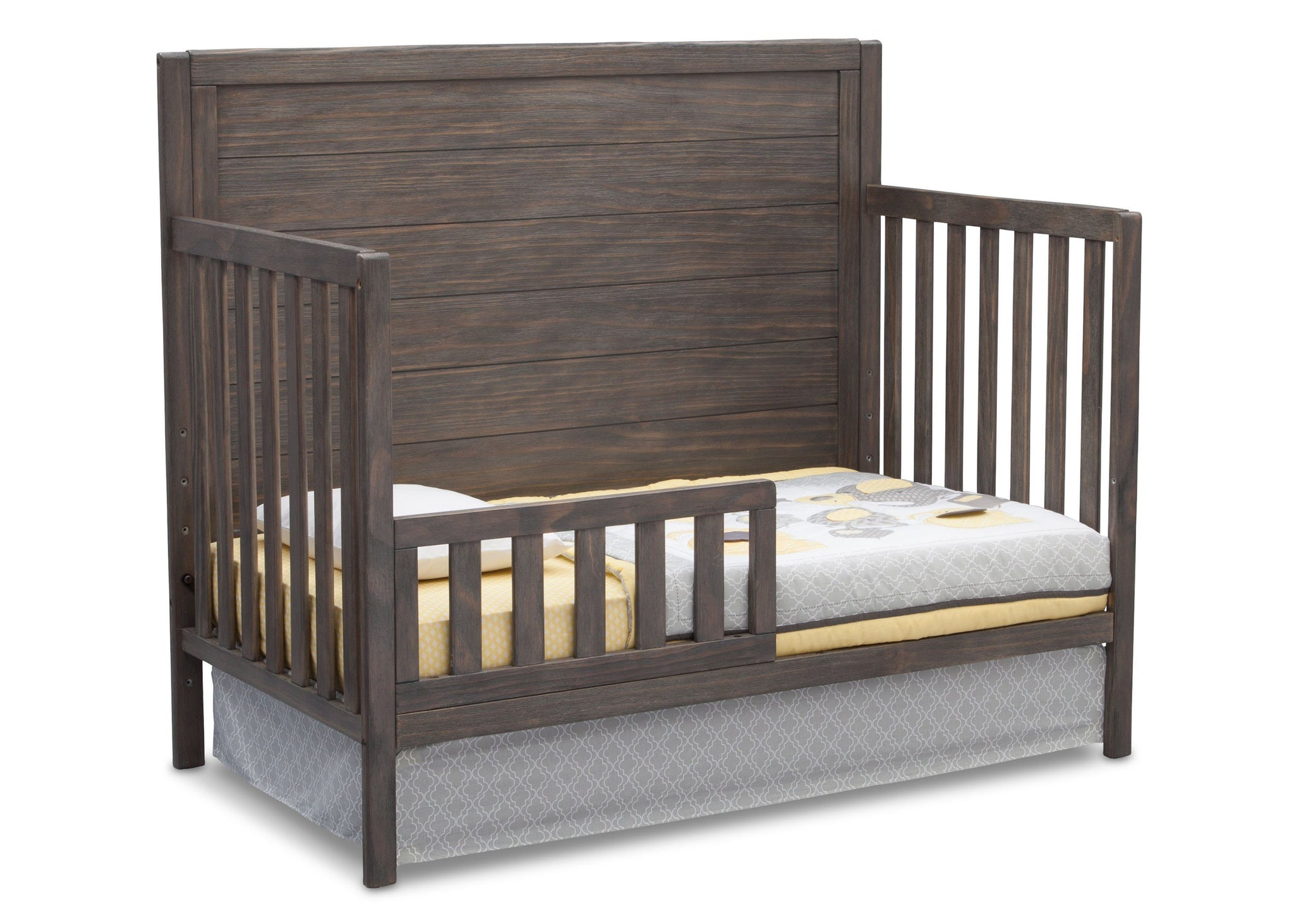 Serta Rustic Grey (084) Cambridge 4-in-1 Convertibel Crib, Toddler Bed View a4a