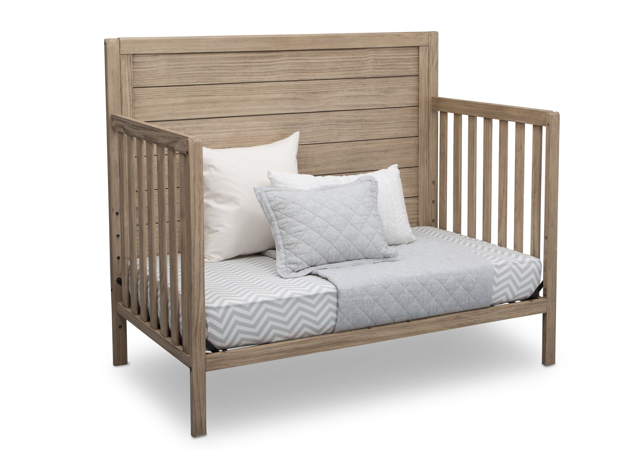 Serta Rustic Driftwood (112) Cambridge 4-in-1 Convertible Crib, Daybed View b5b