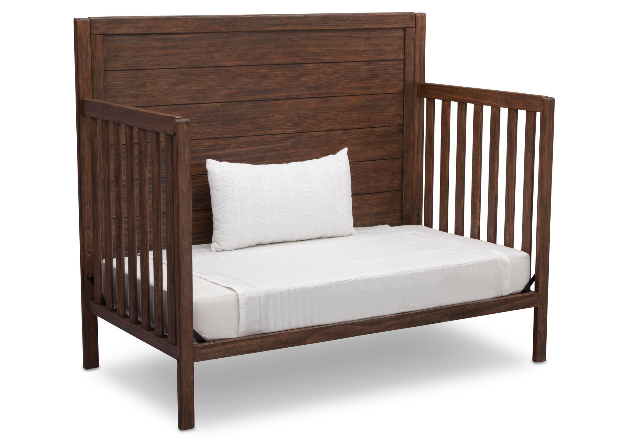 Serta Rustic Oak (229) Cambridge 4-in-1 Convertibel Crib, Daybed View c5c
