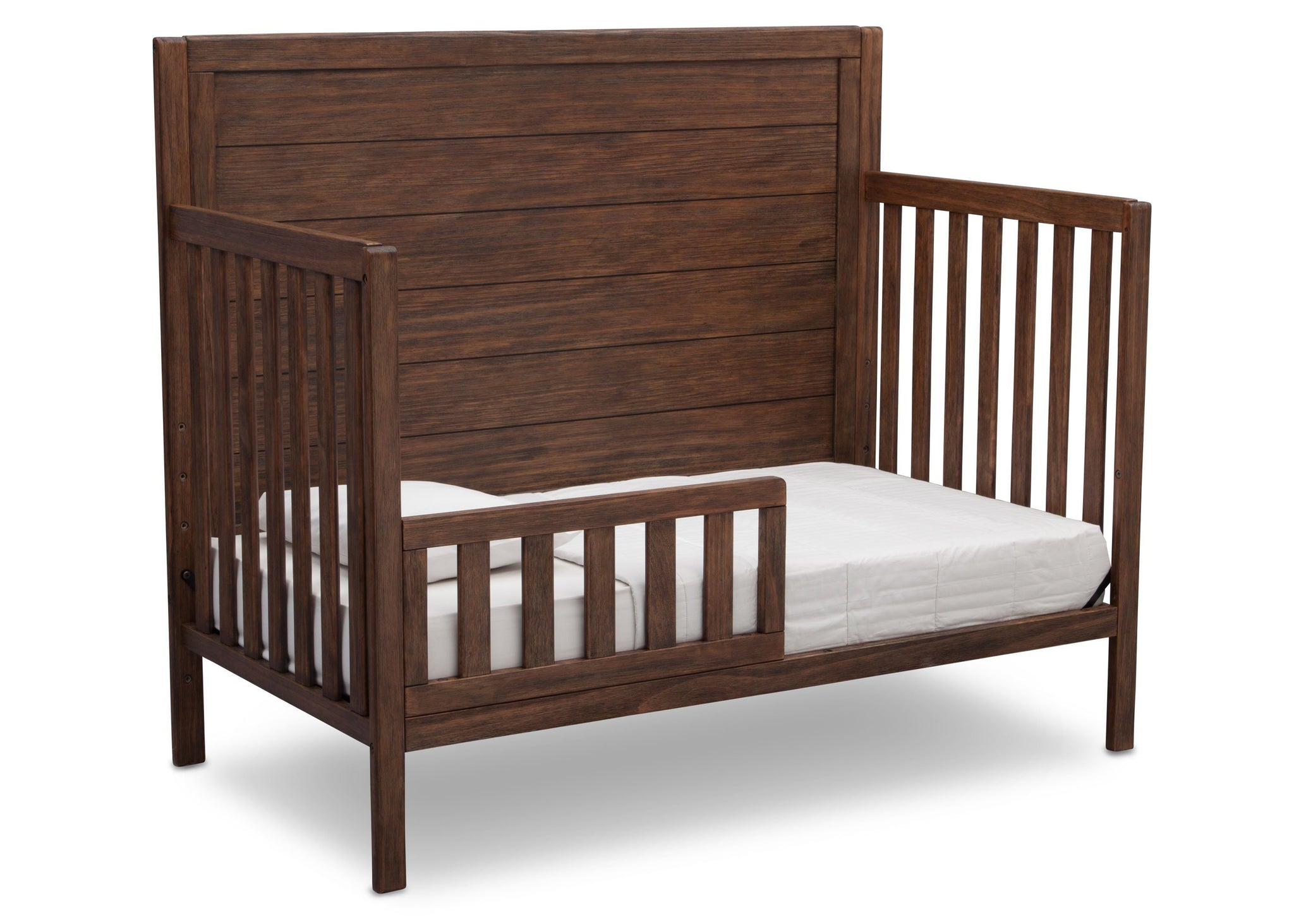 Serta Rustic Oak (229) Cambridge 4-in-1 Convertibel Crib, Toddle Bed View c4c