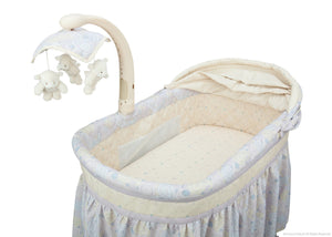 Simmons Kids Paisley Park (050) Deluxe Gliding Bassinet Inside View
