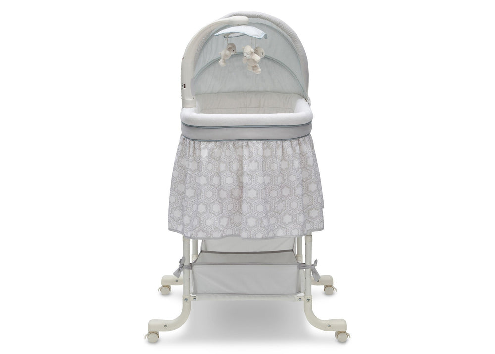 Simmons Kids 174 Deluxe Gliding Bassinet Delta Children