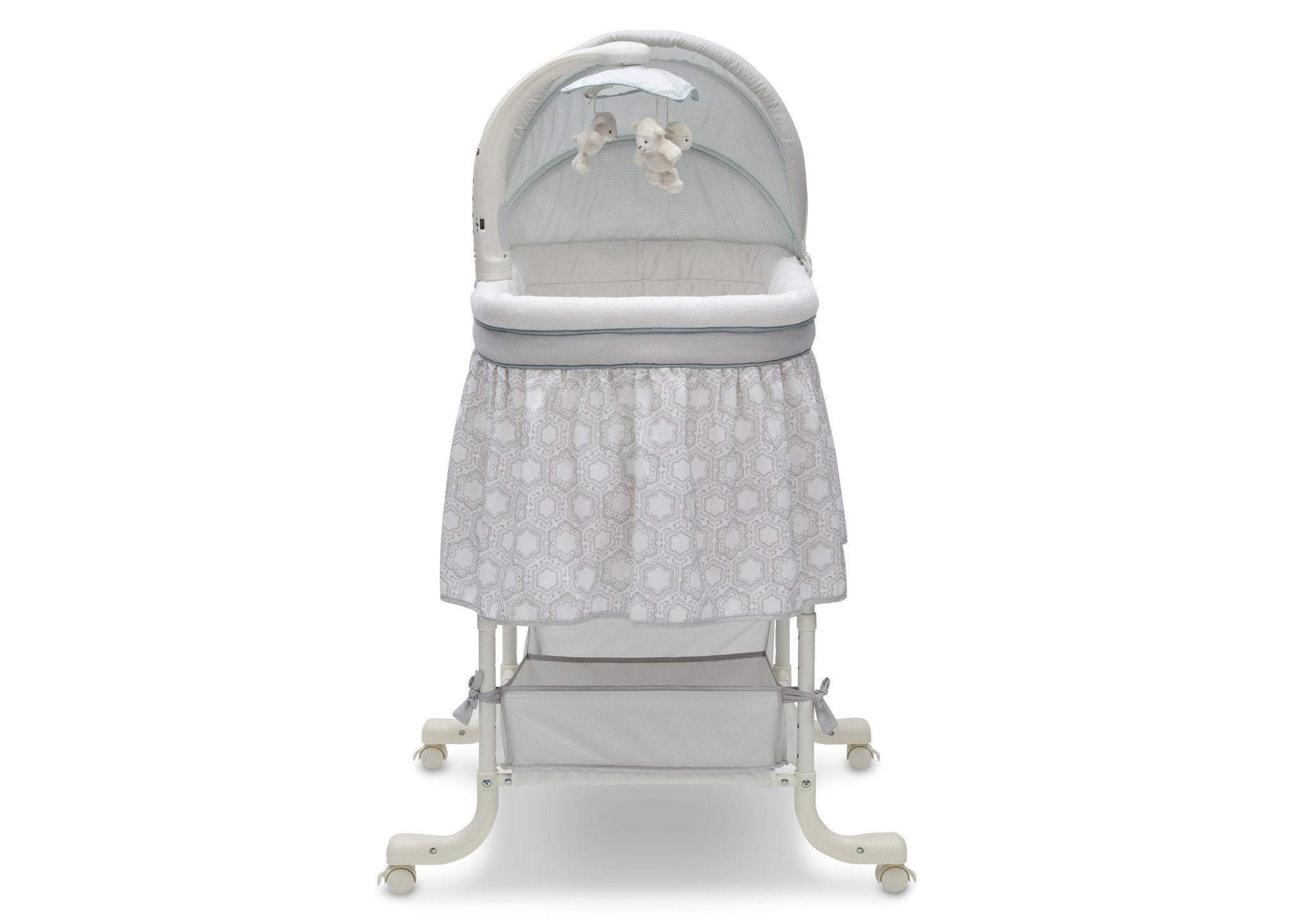 Simmons Kids Seaside (927) Deluxe Gliding Bassinet Front View f2f
