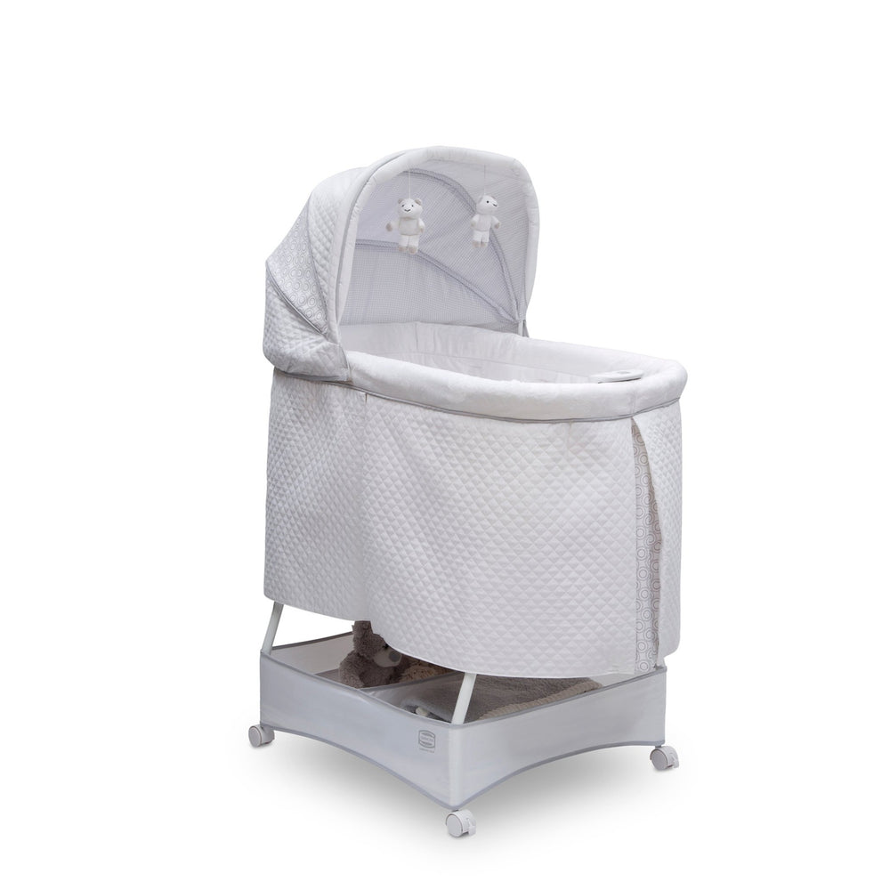 Simmons Kids Inner Circle (2284) Beautyrest™ Silent Auto Gliding Lux Bassinet, Right Silo View
