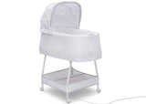 Simmons Kids Odyssey (2020) Silent Auto Gliding Elite Bassinet (701405) Right facing Silo, a3a