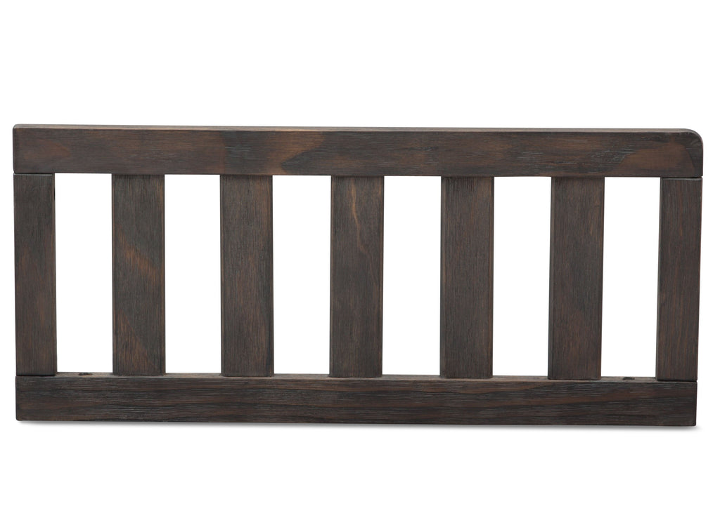 Serta Rustic Grey (084) Toddler Guardrail (701725), Front View a1a for Cambridge 4-in-1 Convertible Crib
