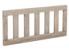 Serta Rustic Whitewash (112) Toddler Guardrail (701725), side view, b3b