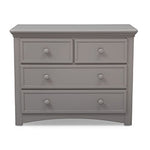 4 Drawer Dresser (Grey) - bundle
