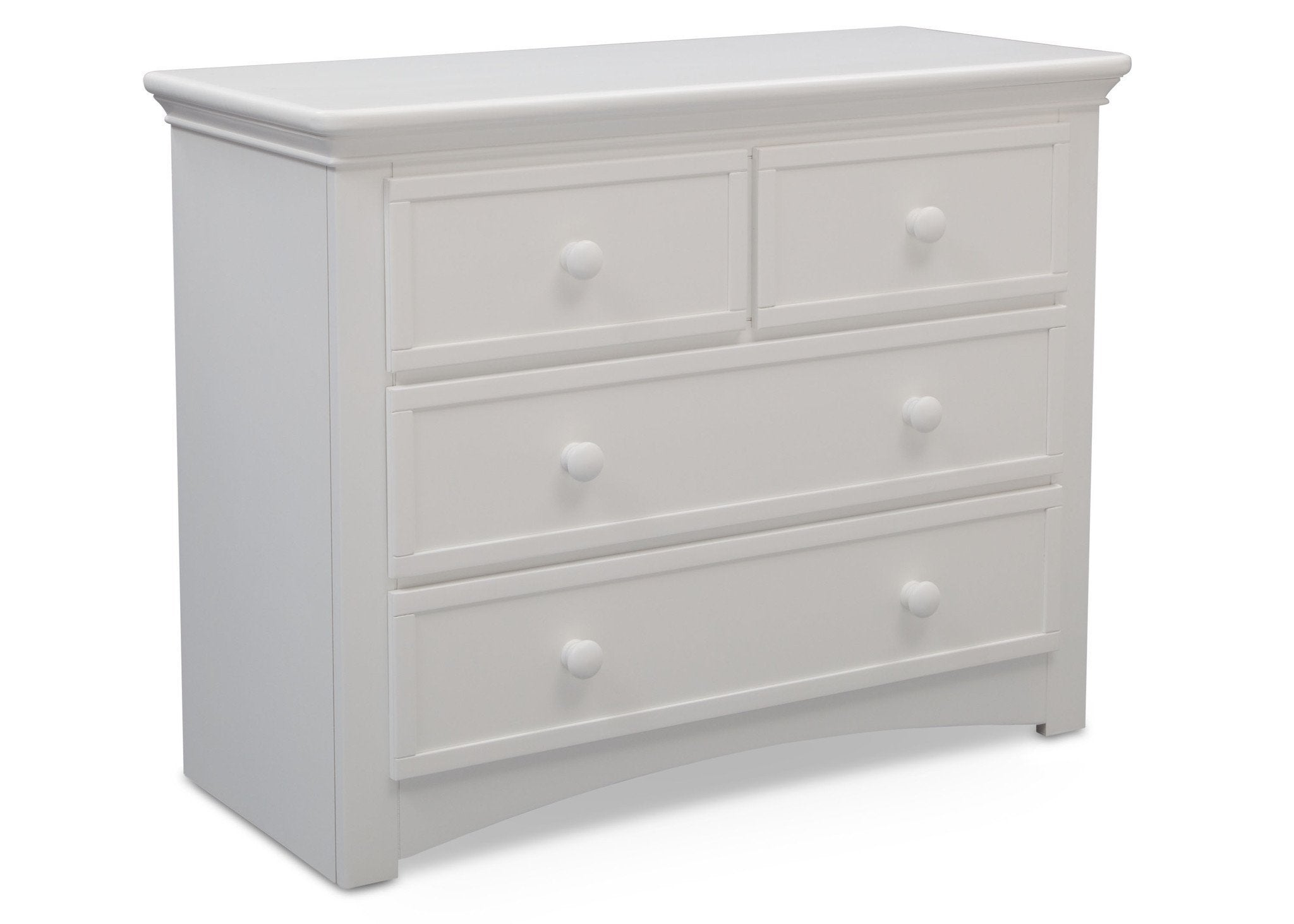 Serta Bianca (130) 4 Drawer Dresser Right Facing View b2b