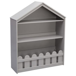 Happy Home Storage Bookcase (Grey)