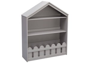 Serta White Grey (026) Happy Home Storage Bookcase a2a