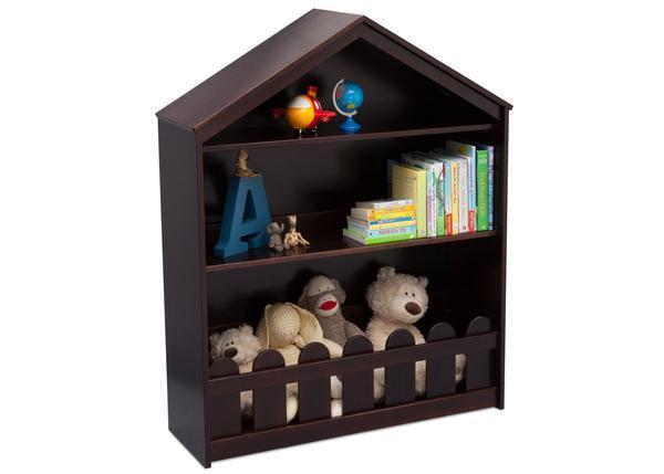 Happy Home Storage Bookcase (Dark Chocolate) - Bundle