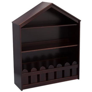 Happy Home Storage Bookcase (Dark Chocolate)